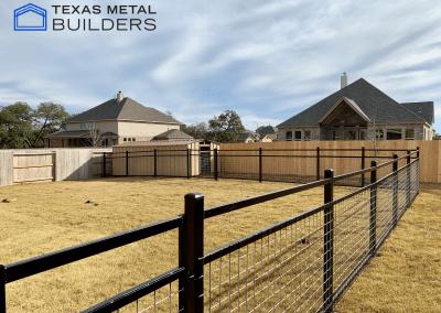 Backyard Fence Installation