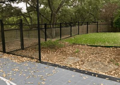 Outdoor Fence Installation
